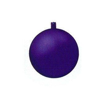 【取寄品】 クリスマス ツリー オーナメント 100mmフロストボール2個セット 紫(lv) 【 クリスマスツリー パーティーグッズ 装飾 雑貨 デコレーション クリスマスパーティー クリスマス飾り ツリー飾り 】