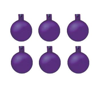 【取寄品】 クリスマス ツリー オーナメント 40mmフロストボール6個セット ラベンダー(lv) 【 装飾 クリスマスツリー デコレーション 雑貨 クリスマス飾り パーティーグッズ ツリー飾り クリスマスパーティー 】