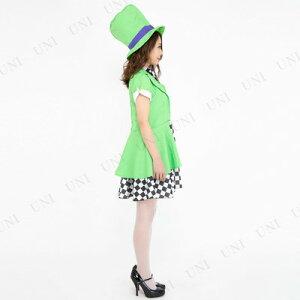 CLUBQUEENGirlyHatter(ガーリーハッター)♪ハロウィン仮装衣装コスプレコスチュームレディースマッドハッター帽子屋不思議の国のアリス