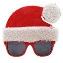 【取寄品】 パーティーグラス サンタハット 【 仮装 おもしろメガネ 小物 変装グッズ クリスマス 面白 コスプレ 眼鏡 】 1