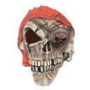 【あす楽12時まで】 コスプレ 仮装 スカルパイレーツマスク (ラテックス製) 【 コスプレ 衣装 ハロウィン パーティーグッズ おもしろ かぶりもの 怖い マスク プチ仮装 変装グッズ ハロウィン 衣装 ホラーマスク 面白マスク おもしろマスク 】