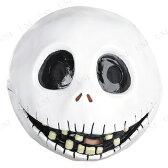 ジャックスケリントンマスク 大人用 ハロウィン 2016 ディズニー 仮装 衣装 コスプレ コスチューム 公式 変装グッズ パーティーグッズ ナイトメア・ビフォア・クリスマス かぶりもの ナイトメアビフォアクリスマス アクセサリー 怖い ホラーマスク