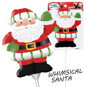 【クリスマスパーティーグッズ】バルーンフォトプロップス ウィムジカルサンタ 1個  KIS23342