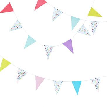 結婚式 飾り付け 【誕生日 パーティー 飾り】 ピックアンドミックス バンティングミニ スプリンクルズ【ジンジャーレイ】【ginger ray】【GGRPM-911】