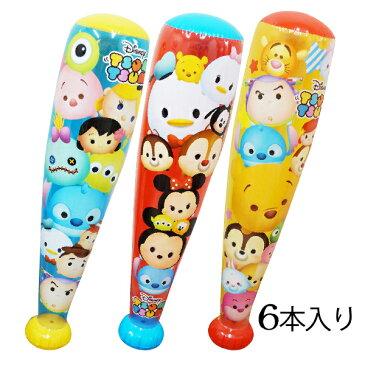 ビニール玩具 ディズニーツムツム カラフルバットジャンボサイズ 6個入り SYDHE26666