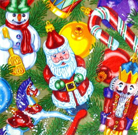 【クリスマス 紙ナプキン】 ツリートリミング ランチョンナプキン(アメリカ製)33cm角16枚入【1点までネコポスDM便OK あす楽】