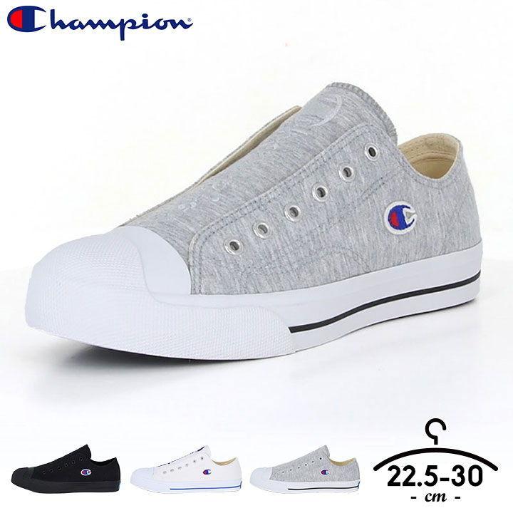 メンズ靴, スニーカー  23cm 24cm 25cm 26cm 27cm 28cm CP LC025 CENTER COURT SLIP Champion