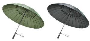 【Ray24本骨傘2010 TyphoonRay タイフーンレイ】耐風仕様グラスファイバー傘 ファッション5250...