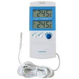 在同一時間顯示 O-209BLO-209BL DRETEC 室內室外溫度計室內和室外溫度 (非折扣服務,取消,返回非對齊的產品、 退出意外失蹤和) 10P03Dec16