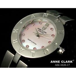 ANNE CLARK ハート&クロス レディースウォッチ AM1020-17【取り寄せ品キャンセル返品不可、割引不可】
