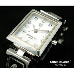 ANNE CLARK ムービングトランプチャームブレス レディースウォッチ AA1030-09【取り寄せ品キャンセル返品不可、割引不可】