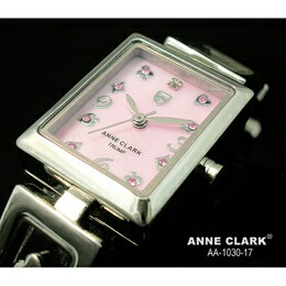 ANNE CLARK ムービングトランプチャームブレス レディースウォッチ AA1030-17【取り寄せ品キャンセル返品不可、割引不可】