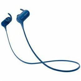 ソニー MDR-XB50BSLZ Bluetooth搭載ダイナミック密閉型カナルイヤホン(ブルー)【取り寄せ品キャンセル返品不可、割引不可】