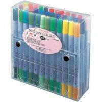 なめらかなタッチのペン先と鮮やかな色合い。ZIG クリーンカラーII(水性カラーサインペン) 36...