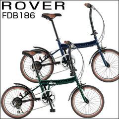 【ROVER(ローバー) 18インチ折畳み自転車 FDB186】フォールディングバイク アウトドア★送料...