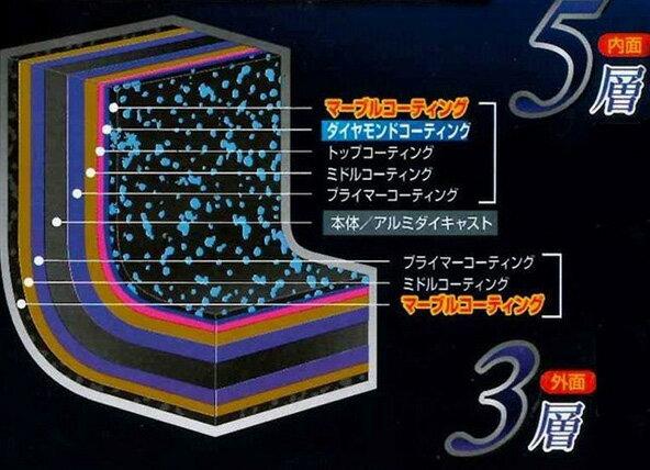 軽量ダイヤモンドマーブルキャスト 玉子焼 F-7113 マーブル塗装 ガス火専用