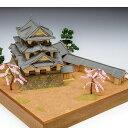 【メーカー直送・大感謝価格 】木製日本建築模型 1/150 彦根城 完成サイズ全幅300×奥行300×全高172mm 製作参考時間40時間