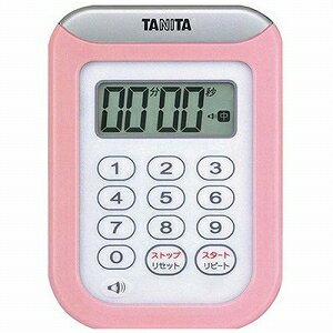 TANITA百利達數字計時器圓洗計時器100分計TD-378-PK粉紅10P03Dec162017年初出售