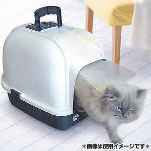 ファンタジーワールド 猫用トイレ クリーンハウストイレ ブルー CC-2B 5000円税別以上送料無料(割引サービス不可品、お取り寄せ品でキャンセル返品不可)ポイント10P03Dec16