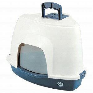 ファンタジーワールド 猫用トイレ クリーンハウス コーナートイレ ブルー CC-4B 5000円税別以上送料無料(割引サービス不可品、お取り寄せ品でキャンセル返品不可)ポイント10P03Dec16