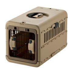 リッチェル キャンピングキャリー 折りたたみ S ブラウン 犬 猫 キャリーケース キャリーバッグ5000円税別以上送料無料(割引サービス不可、寄せ品でキャンセル返品不可)10P03Dec16