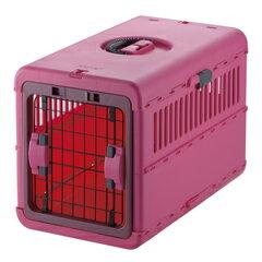 リッチェル キャンピングキャリー 折りたたみ M ピンク 犬 猫 キャリーケース キャリーバッグ5000円税別以上送料無料(割引サービス不可、寄せ品でキャンセル返品不可)10P03Dec16