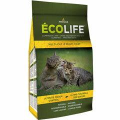 ファンタジーワールド 猫砂 インターサンド エコライフ マルチキャット 4.54kg 26445(割引サービス不可、寄せ品キャンセル返品不可)