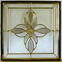 ステンド グラス ステンドグラス ステンドガラス デザインパネル300角sgsq317(取寄品、割引不可、キャンセル返品不可、突然終了あり)