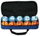 ★送料無料★ゲートボール道具 用具バッグ入りカラーボール2色★ ポイントカラフルなボールで練...