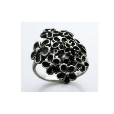 送料無料『フラワースカル リング KR-229 AtSV 』リング 指輪 アクセサリー ファッション