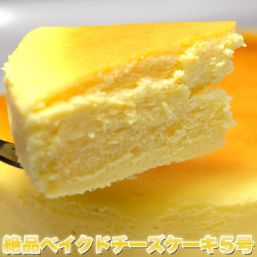 【楽天大感謝価格】『絶品ベイクドチーズケーキ5号冷凍商品』