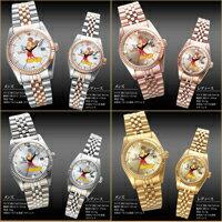 『世界限定カラーバリエーションミッキープレミアムダイヤモンド腕時計』プレミアムウォッチ腕時計メンズレディース限定生産世界限定