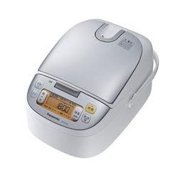 【パナソニック 炊飯器 SR-HC154-W】白物家電 電化製品 キッチン 調理 食卓 ご飯 お米 ...
