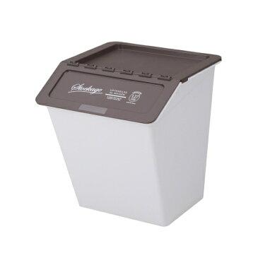 大感謝価格『スタックバケット ブラウン 38L』 5940円税別以上送料無料収納 整理整頓 片付け ゴミ箱や衣類収納、おもちゃ箱、食品ストッカーなどマルチに スタックバケット ブラウン 38L
