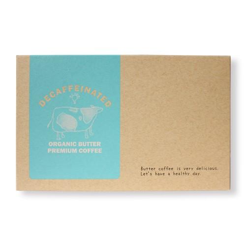 【あす楽対応】【大感謝価格】【ネコポス】デカフェオーガニックバタープレミアムコーヒー 30包