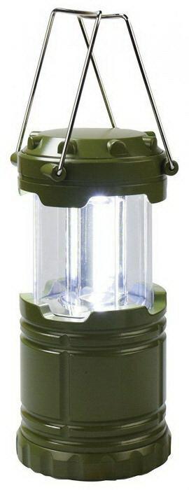 LEDスライドランタン アクトライト ミニ グリーン FIN-663GRS