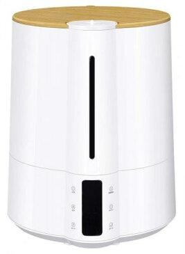 【大感謝価格 】上部給水大容量ハイブリッド加湿器 グランミスト 湿度コントロール機能付 ホワイト HB-T1826WH