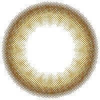 カラコンカラーコンタクトリルムーン(LILMOON)ヌードチョコレート1Month1ヶ月1箱1枚度あり