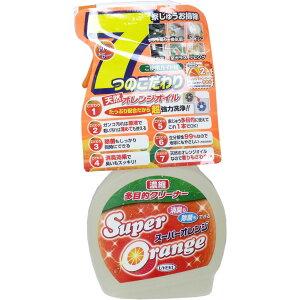 『スーパーオレンジ 濃縮多目的クリーナー 消臭・除菌泡タイプ 480mL』掃除用洗剤『スーパーオ...