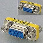 【メール便送料無料】エレコム 超小型アダプタ D-Sub15ピン(ミニ)メス - D-Sub15ピン(ミニ)メス [AD-HD15F]|| ELECOM