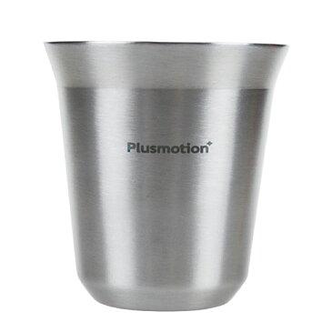 ロジック Plusmotion ステンレス コーヒーカップ 4セット ( コーヒーカップ シルバー)アウトドア キャンプ コーヒーミル プレゼント zpro LG-PM-SC4 父の日 ギフト