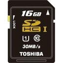 東芝 SDHCメモリーカード 16GB Class10 UHS-I SDAU016G 送料無料