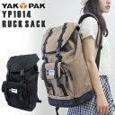 """世代を問わずに支持されている""""YAK PAK""""のリュック!耐久性に優れたコーデュラ®社製ファブ..."""