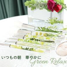 グリーンハーバリウムメイクブラシメイクブラシ完成品セット5000円リラックスユニーク緑きれい素敵おしゃれシック上品さわやか大人ギフトプレゼント贈り物プリザーブドフラワーお祝就職新生活オフィスOL就活