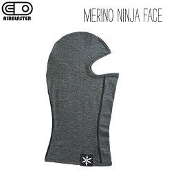 AIRBLASTER MERINO NINJA FACE エアブラスター メリノ ニンジャ フェイス マスク バラクラバ メリノウール 高性能 正規品 2021-22モデル
