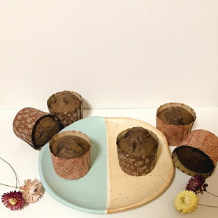 チョコレートマフィンスタートセット 送料無料 Mサイズマフィン12個分スタートセット・送料無料・初心者 セット・キット・手作り・入門・型・紙製・個包装袋・ラッピング・お菓子キット・バレンタイン手作り