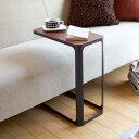 サイドテーブル frame フレーム ホワイト ブラック(メーカー直送) / 寝室 リビング 山崎実業 t_家具・インテリア(送料無料)
