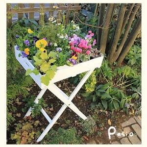 お花や雑貨をディスプレイできるトレイと折り畳み式スタンドのセットです【送料無料】スタンド...