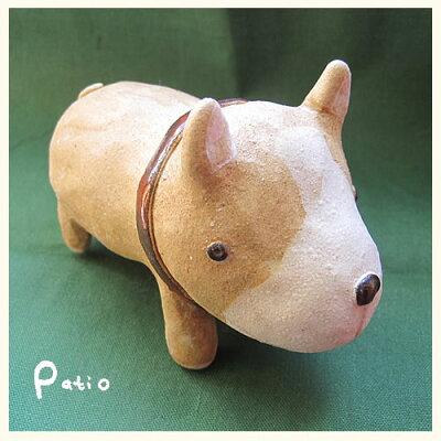 陶器手作りわんこ立ち柴犬