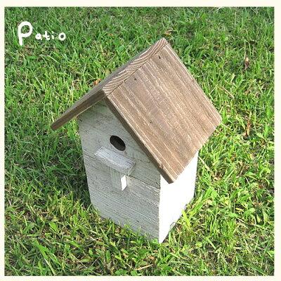 アンティークウッド巣箱